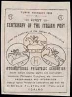 Turin: Centenary Of The Italian Post Reklamemarke - Erinnophilie