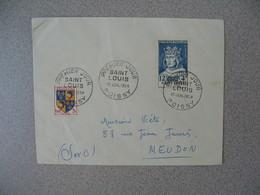 FDC France 10/7/1954  N° 989  Célébrités Du XIII è Au XX è Siècles Cachet Saint-Louis Poissy Pour Meudon - FDC