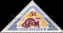 USED STAMPS Mongolia - Mongolian Wildlife -  1959 - Mongolia