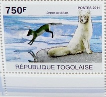 Renard (Animaux) - Togo - 2011 - Togo (1960-...)