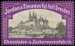 Dresden: Meissen Albrechtsburg Reklamemarke - Erinnofilia
