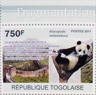 Panda (Animaux) - Togo - 2011 - Togo (1960-...)