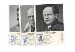 Carte Maximum 1958 Widal-Nicolles-Leriche - 1950-59