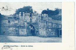 Antoing - Grand'Place - Entrée Du Château - 1924 - Antoing