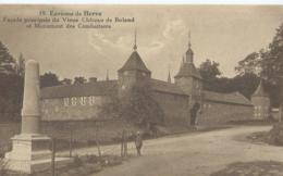 Herve - 19 - Environs De Herve - Facade Principale Du Vieux Château De Boland - Edit. Mathot, Bazar à Herve - Herve