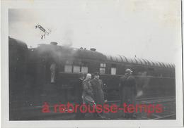 10 Décembre 1939- Train En Gare D'Hesdigneul Les Boulogne-format 9 X 6,4cm - War, Military