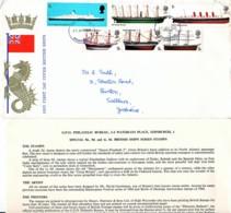 GRANDE BRETAGNE : 1969 - FDC - Bateaux - FDC