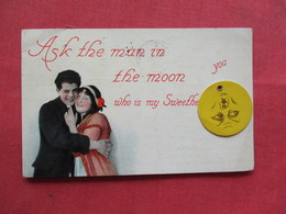 Movable Moon-- Ask The Man In The Moon Who Is My Sweetheart Ref 3252 - Mechanical
