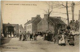 St- Goazec - Partie Centrale Du Bourg - France