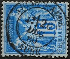 -Sage N°90 Type Ll. O .ARCY-S-AUBE .26 Déc 1880. - 1876-1898 Sage (Type II)
