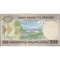 TWN - RWANDA NEW - 500 Francs 1.2.2019 Prefix BC UNC - Rwanda