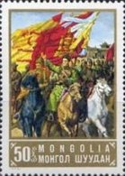 USED STAMPS Mongolia - The 80th Anniversary Of The Birth Of Suk....-  1973 - Mongolia