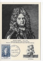 Carte Maximum 1958 Jean Bart - Cartes-Maximum