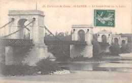 Saint Satur (18) - Environs De Cosne - Le Grand Pont Sur La Loire - Saint-Satur