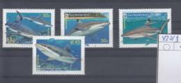 Cook Inseln (BBK) Michel Cat.No. Mnh/**  420/423 Wwf Issue Shark - Cook