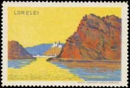 Koblenz: Lorelei Reklamemarke - Erinofilia