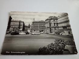 Ancienne Carte Postale Cpsm Cpm Wien Schwarzenbergplatz 1959 Automobiles - Autres