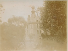 BACHTE MARIA LEERNE - ORIGINELE OUDE FOTO 12 X 9 CM - CHATEAU D'OYDONCK  - 4 SCANS +- 1900 - Deinze
