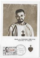 Carte Maximum 1959 Charles De Foucauld - 1950-59