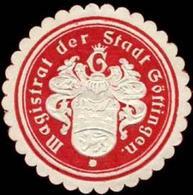 Göttingen: Magistrat Der Stadt Göttingen Siegelmarke - Cinderellas