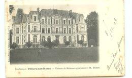 94* VILLIERS SUR MARNE Chateau Malnoue - Villiers Sur Marne