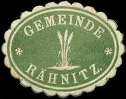 Rähnitz: Gemeinde Rähnitz Siegelmarke - Cinderellas
