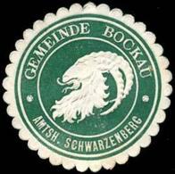 Bockau: Gemeinde Bockau Amtsh. Schwarzenberg Siegelmarke - Cinderellas