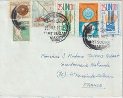 Soudan Lettre De 1972 Pour La France - Soudan (1954-...)