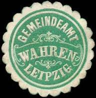 Wahren: Gemeindeamt Wahren - Leipzig Siegelmarke - Cinderellas