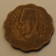 1943 - Egypte - Egypt - 1362 - 10 MILLIEMES - KM 361 - Egitto
