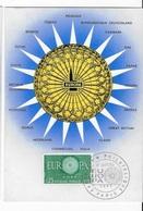 Carte Maximum 1960 Europa - Cartes-Maximum