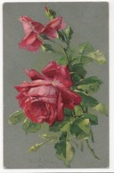 C Klein Red Roses Stewart & Woolf 458 Vintage Art Postcard - Klein, Catharina