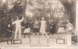 SPORTS - REVUE EN T.S.F 1929 - Sport Féminin - Edit Joquet - Montélimar - Neuve Dos Vert - TBE - Postcards