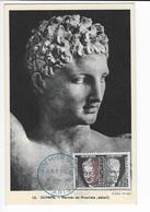 Carte Maximum 1961   Olympie Hermes De Praxitéle - Cartes-Maximum