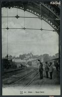 Dijon - Sous Gare - Carte Glacée - A. Breger Fr. 61 - Voir Cachet Club Excursionniste Dijonnais - See 2 Scans - Dijon