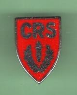 CRS *** Pin's A Vis *** VIS-1 - Polizia