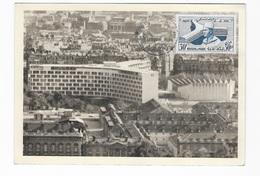 Carte Maximum 1961  Palais De L'Unesco - 1960-69