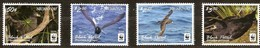 Tonga Niuafo'ou  2016 Yvertn° 408a-411a Micheln° 607-610 *** MNH Cote 16,50 Euro Faune WWF Oiseaux Vogels Birds - Tonga (1970-...)