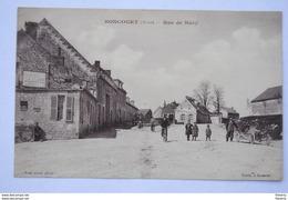 BONCOURT Aisne Rue De Bucy - Auto - Autres Communes