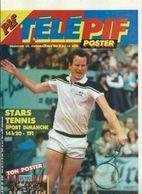 Télé Pif Poster N°845 Stars Tennis - Poster USA For Africa De 1985 - Fernsehen