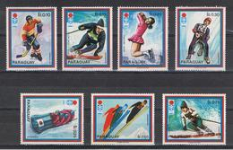 PARAGUAY:  1972  GIOCHI  OLIMPICI  -  S. CPL. 7  VAL. N. -  MICHEL  2265/71 - Paraguay