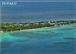 1 AK Tuvalu * Blick Auf Vaiaku Auf Der Insel Fongafale (Hauptinsel Des Funafuti Atolls), Hauptstadt Von Tuvalu * - Tuvalu