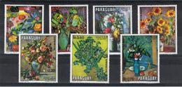 PARAGUAY:  1970  FIORI  -  S. CPL. 7  VAL. N. -  MICHEL  2092/98 - Paraguay