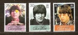 Gibraltar 1999 Yvertn° 872-874 (°) Oblitéré Used Cote 4,50 Euro John Lennon - Gibraltar