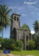 1 AK Insel Pohnpei * Die Deutsche Katholische Missionskirche In Kolonia - Föderierte Staaten Von Mikronesien * - Mikronesien