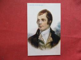 Ayr Burn's Portrait    Ref 3253 - Historical Famous People