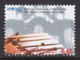 TIMBRE NEUF DE BELGIQUE - BRUGES 2002 : MUSIQUE CLASSIQUE ET CONTEMPORAINE N° Y&T 3055 - Musique