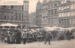 ¤¤   -   BELGIQUE   -  BRUXELLES   -  Grand'Place  -  Marché Aux Fleurs     -  ¤¤ - Markten
