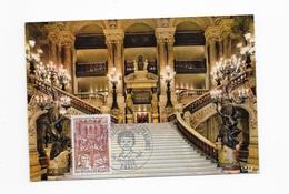 Carte Maximum 1968 Théâtre De L'Opéra - 1960-69
