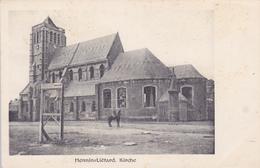 (62) - Hénin-Liétard Kirche  Carte Postale Allemande - Other Municipalities